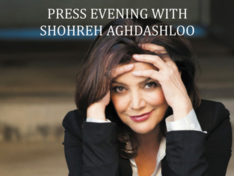 Press evening with Shohreh Aghdashloo