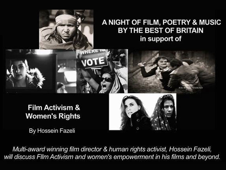 A night of Film, Poetry & Music