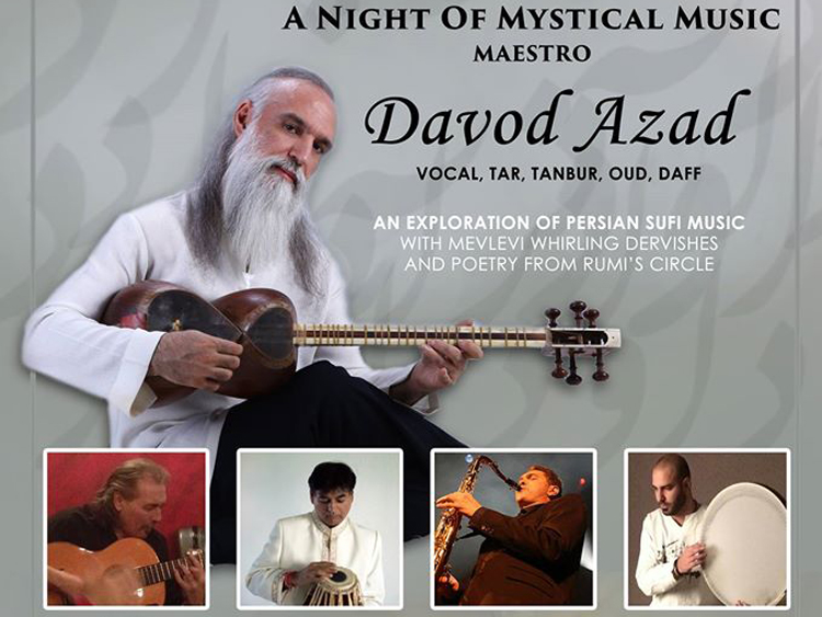 Davod Azad live in London