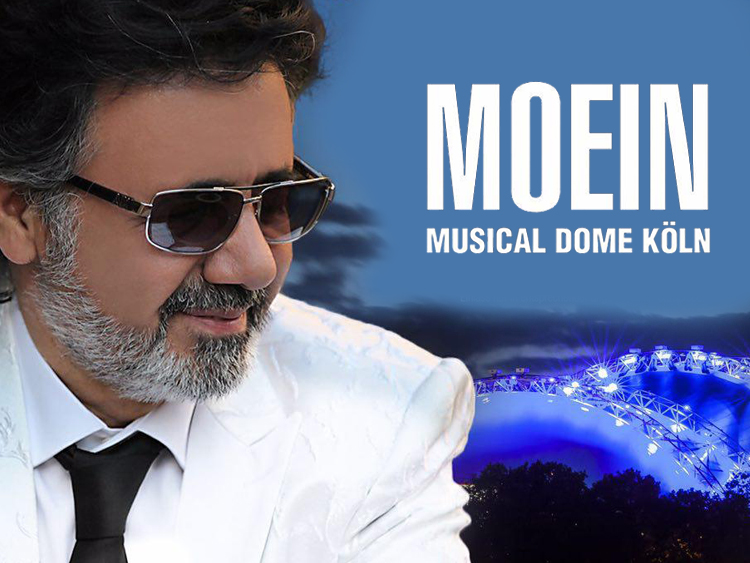 Moein live in Musical Dome - Cologne