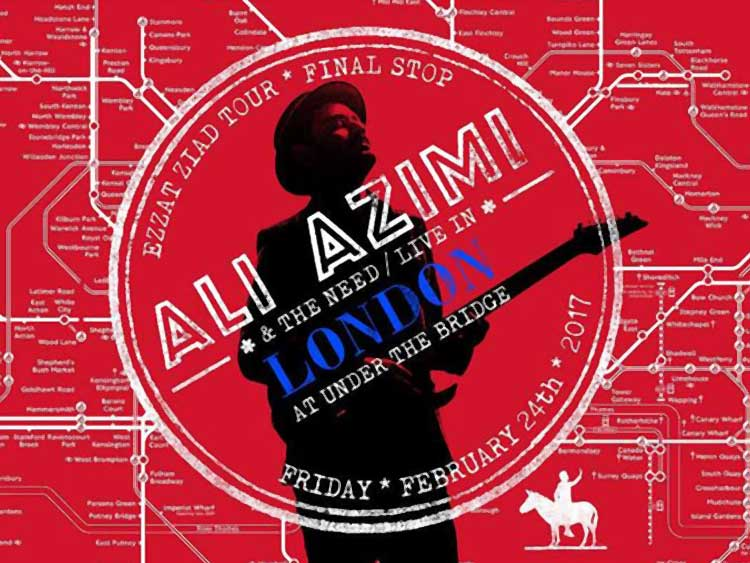 Ali Azimi and the Need Live in London