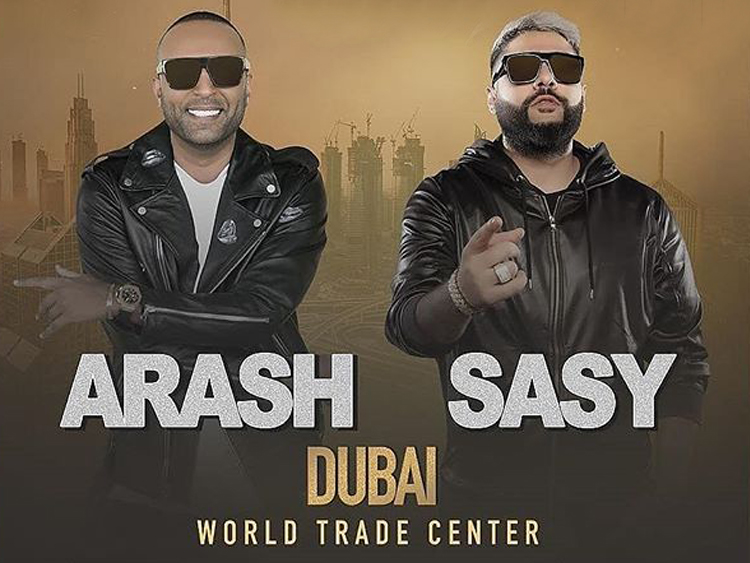 ARASH & SASY live in Dubai