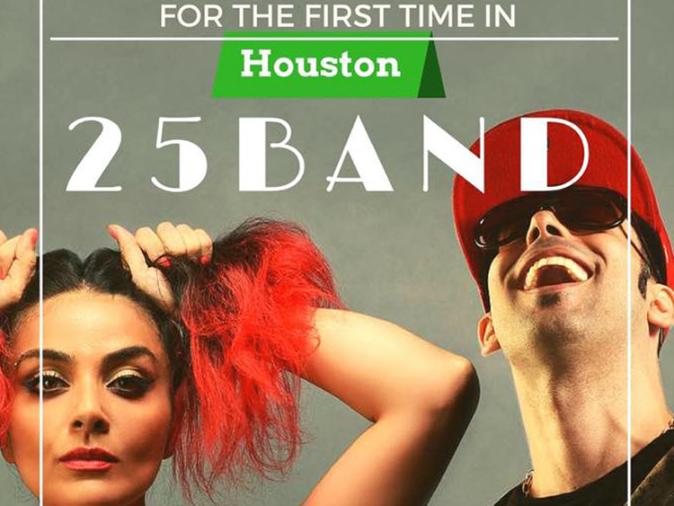 25Band live in Houston