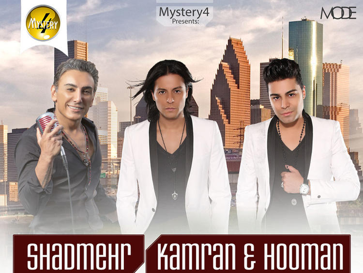 Shadmehr and Kamran & Hooman live in Houston