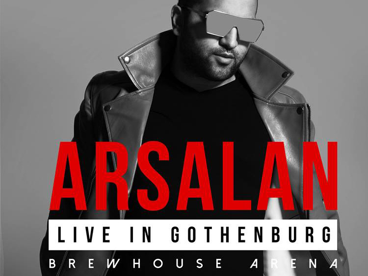 Arsalan live in Gothenburg