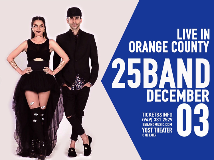 25Band live in Orange County