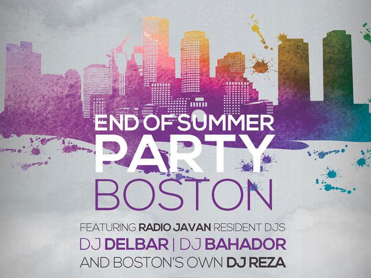 Radio Javan End of Summer Party In Boston