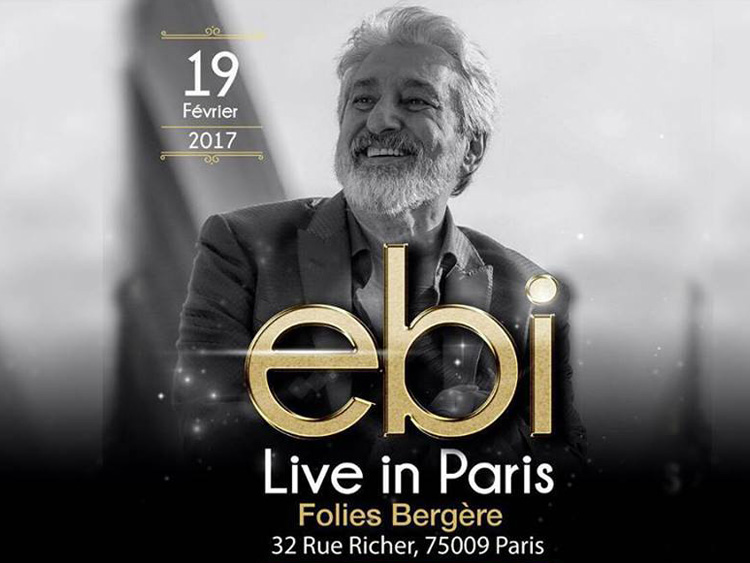Ebi live in Paris