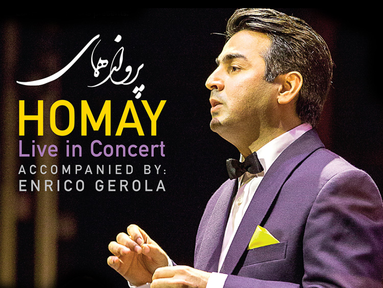 Homay live in Concert Irvine