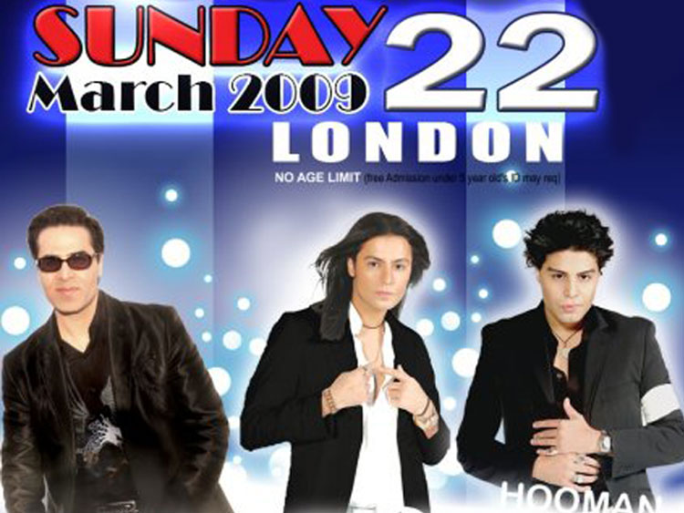Omid and Kamran & Hooman live in London