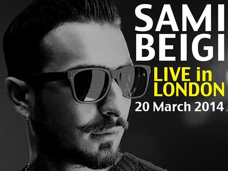 Sami Beigi Live in London