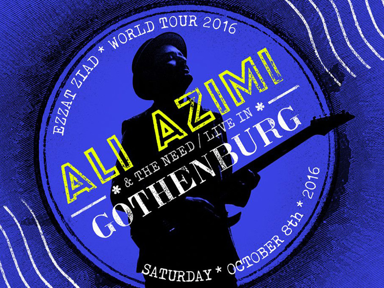 Ali Azimi live in Gothenburg