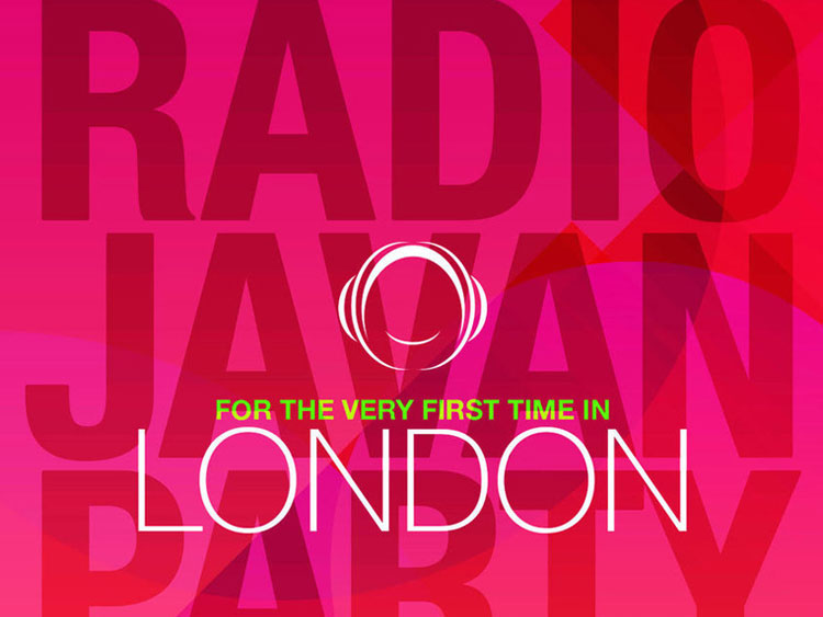 Radio Javan Party in London