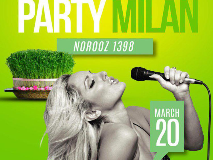 Radio Javan Party in Milan featuring Nikita