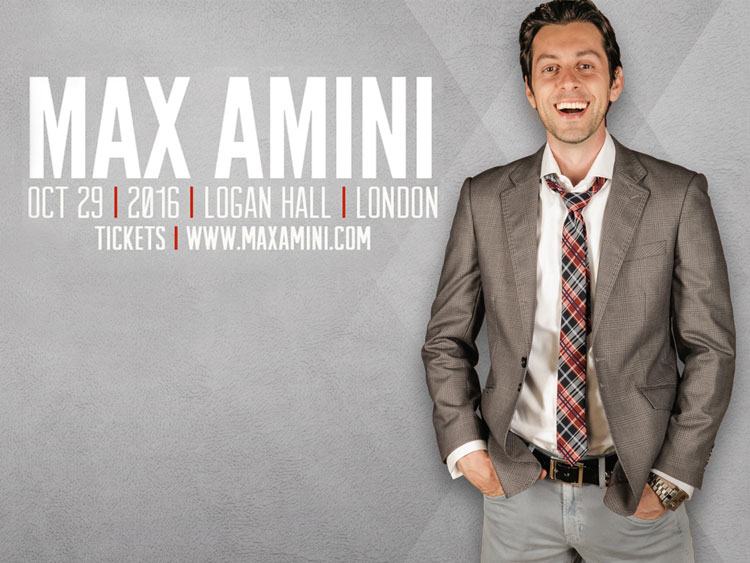 Max Amini live in London