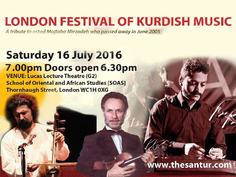 Festival of Kurdish Music VI @London