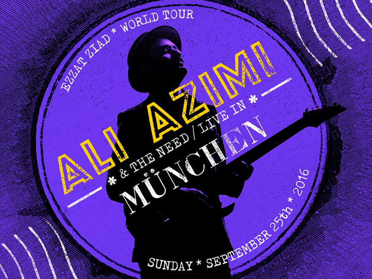 Ali Azimi live in Munich