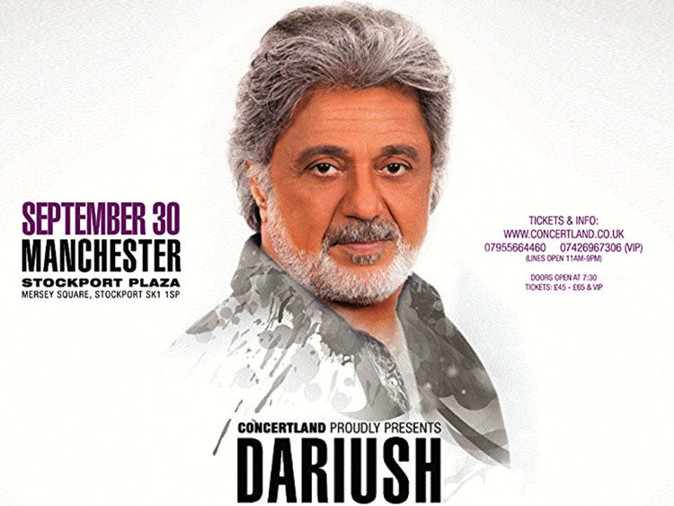 Dariush live in Manchester