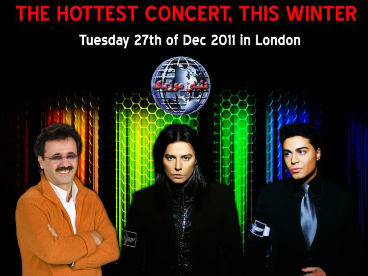 Moein and Kamran & Hooman live in London
