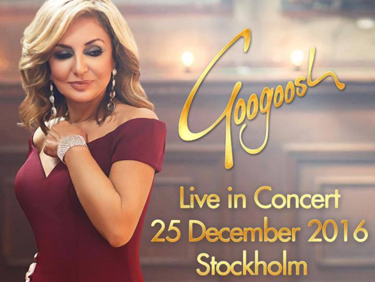Googoosh live in Stockholm