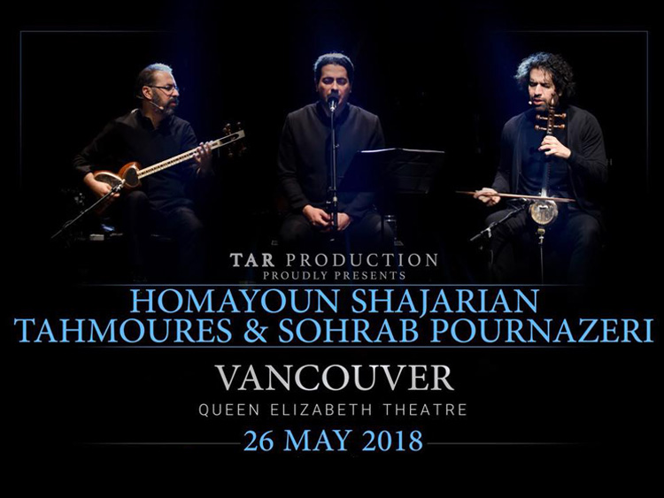 Homayoun, Tahmoures & Sohrab live in Vancouver