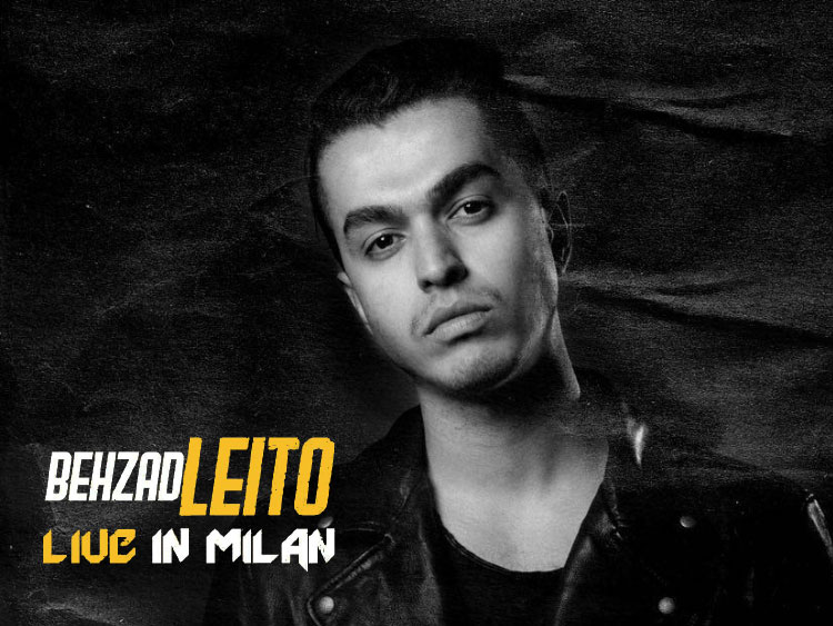 Behzad Leito live in Milan