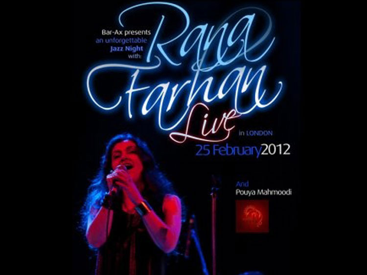 Rana Farhan feat Pouya Mahmoodi Live In London