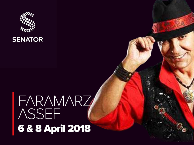 Faramarz Assef live in London