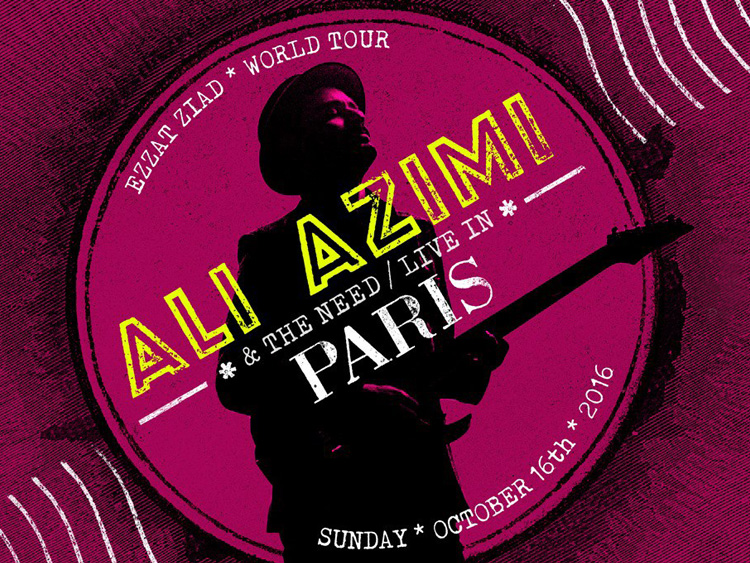 Ali Azimi live in Paris