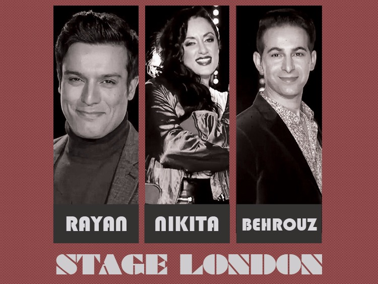 Stage Concert (Nikita, Rayan & Behrouz) live in London